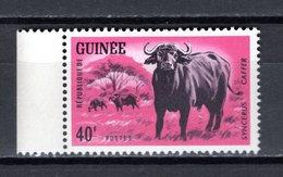 GUINEE N° 204  NEUF SANS CHARNIERE COTE 1.00€  ANIMAUX BUFFLE - Guinée (1958-...)