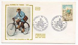 FDC France 1972 - Journée Du Timbre 1972 - Facteur - YT 1710 - 08 Charleville - Mézières (réf A1586) - FDC