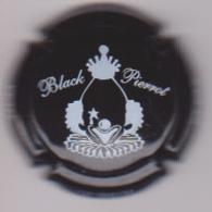 Capsule Champagne PETIT_LE BRUN & Fils ( 6 , Cuvée BLACK PIERROT ) {S51-18} - Champagne