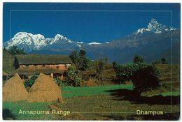(032..173) Nepal, Annapurna Range, Dhampus - Nepal
