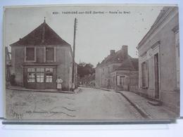 72 - THORIGNE SUR DUE - ROUTE DU BREIL - ANIMEE - France