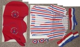 Rare NEUF 2 Bonnets Phrygiens 1 Gilet 2 Cocardes Commune Libre Vieux Montmartre, Bicentenaire Révolution 1789-1989 - Théatre & Déguisements