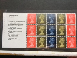 GB - Mixed Value Pre-decimal Pane From Stamps For Cooks Booklet - MNH - 1952-.... (Elizabeth II)