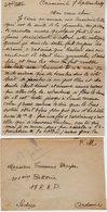 VP13.668 - Guerre 39 / 45 - CRAMENIL 1939 - Lettre De Mme Henriette BRAYER  Pour SEDAN -  Récit - Manoscritti