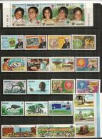 Années  1979-1980,   33 Timbres + 2 B-F Neufs **  Côte 45,00 Euro. Deux Photos - Nauru