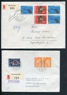 Schweiz / 7 Gut Frank. Reco-Briefe (1/632-50) - Switzerland