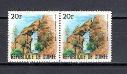 GUINEE N° 260 NON EMIS NEUF SANS CHARNIERE AVEC SURCHARGE DU CINQUANTENAIRE DU LIONS INTERNATIONNAL  COTE ? € - Guinée (1958-...)
