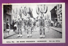 CARTE POSTALE / CARTE PHOTO - HEMIKSEN - SOCIETE DES GILLES / FOLKLORE - Hemiksem