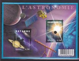 L'Astronomie Feuillet N° F 4353** - Neufs