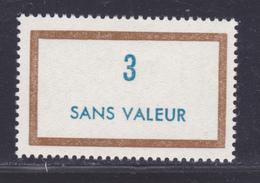 FRANCE FICTIF N° F168 ** MNH Neuf Sans Charnière, TB - Phantomausgaben