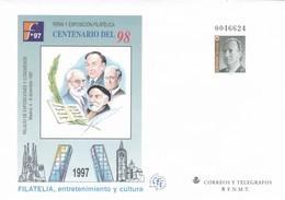 España Sobre Entero Postal Nº 44 - Enteros Postales