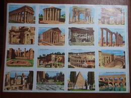 Planche éducative Volumétrix - N°22 - Monuments Romains - Fiches Didactiques