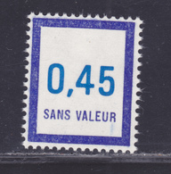 FRANCE FICTIF N° F209 ** MNH Neuf Sans Charnière, TB - Finti