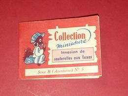 BISCUITS BROSSARD 1955 Compte à Lire ! Invasion De Sauterelles Aux Texas Series B N°5 VOIR PHOTOS - Publicités