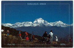 (032..176) Nepal, Dhaulagiri Himalaya Range, View From Poon Hill - Nepal
