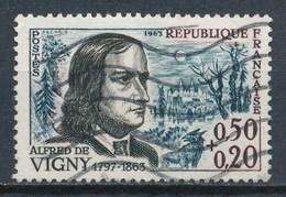 France - YT 1375 Oblitéré. Alfred De Vigny - Oblitérés