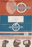 Postes De Radio--electrophones Ducretet Thomson--depliant Catalogue 4 Volets - Vieux Papiers