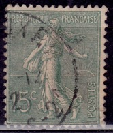 """France, 1903, Sower"""", 15c, Sc#139, Used - 1903-60 Sower - Ligned"""