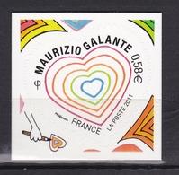 Saint Valentin  N° 4528** - Unused Stamps