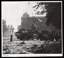 1946  --  PRAGUE  PREMIERS CAMIONS SOVIETIQUES PLACE WENCESLAS  3Q141 - Vieux Papiers