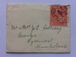 GB - George V Small Cover With Invite Inside - 7 X 5 Cms - 1902-1951 (Kings)