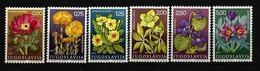 JUGOSLAWIEN Mi-Nr. 1330 - 1335 Heilpflanzen Postfrisch - 1945-1992 Sozialistische Föderative Republik Jugoslawien