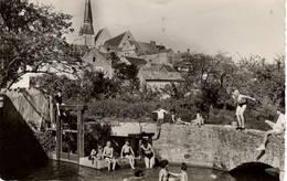CPSM : Gallardon , Baignade Du Marly - Autres Communes