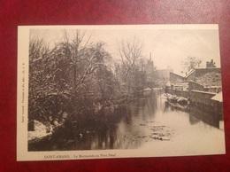 Saint Amand Montrond Bords Marmande Au Pont Neuf Hiver - Saint-Amand-Montrond