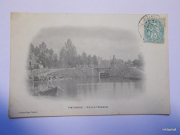TINTENIAC-Pont à L'abbesse - Francia