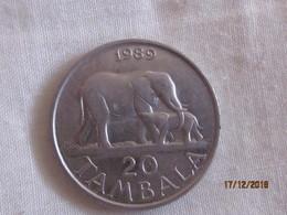 Malawi: 20 Tambala 1989 - Malawi