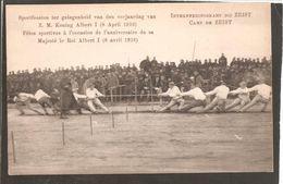 Interneringskamp Zeist.Fetes Anniversaire Roi Albert I.Touwtrekken. Oorlog 1914-1918. Grande Guerre - Zeist