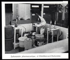 1972  --  LABORATOIRE PHARMACEUTIQUE A CHATILLON SUR CHALARONNE   3Q144 - Vieux Papiers