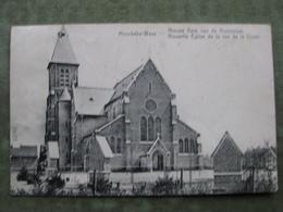 MOERBEKE WAAS - NIEUWE KERK VAN DE KRUISSTRAAT 1909 ( 2 Scans ) - Moerbeke-Waas