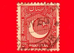 PAKISTAN - Usato - 1948 - Motivi Del Paese - Stella E Mezzaluna - Crescent And Star (NE) - 2 - Pakistan
