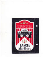 Sticker Marlboro -  Lancia Monte Carlo 1973 Rally - Automovilismo - F1