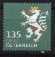 2018 - 3412 - ° -  Heraldik Neu - 1,35 Graz - 1945-.... 2ème République