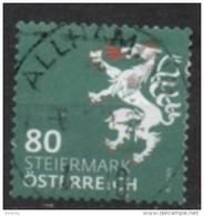 2018 - 3407 - ° -  Heraldik Neu - 0,80 Steiermark - 1945-.... 2ème République