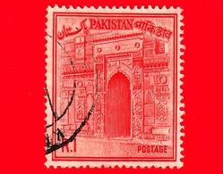 PAKISTAN - Usato - 1963 - Viste Del Paese - Moschea - Chhota Sona Masjid Gate - 1 - Pakistan