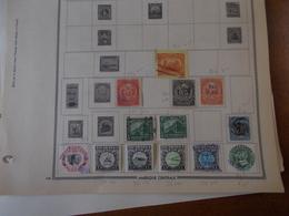 Lot N° 609  Nicaragua , Paraguay , Panama . Sur Page D'albums .. No Paypal - Sammlungen (im Alben)
