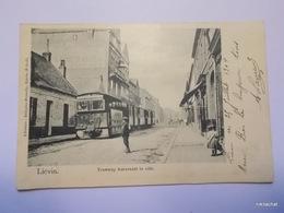 LIEVIN-Tramway Traversant La Ville-Précurseur - Lievin