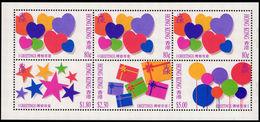 Hong Kong 1992 Greetings Booklet Pane Unmounted Mint. - Hong Kong (...-1997)