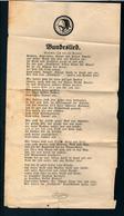Militaria 2. Weltkrieg Liedtext Des Stahlhelmbundes - 1939-45