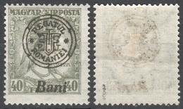 1919 Roman Occupation - Hungary - Oradea / Nagyvárad - Queen ZITA MH - Mi 49II - Transylvanie