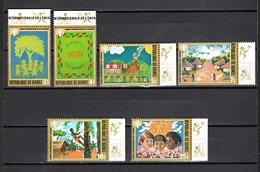 GUINEE  N° 653 à 658  NEUFS SANS CHARNIERE COTE 10.00€  ANNEE DE L'ENFANT - Guinée (1958-...)