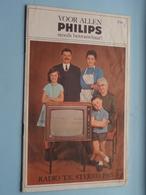Radio T.V. Stereo 1965 / Reeks PHILIPS Toestellen Van Het Jaar 1965 > Voir / Zie Foto's ( Stempel MACHELEN PIONET Henri! - Television