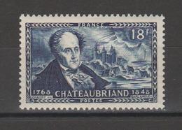 FRANCE / 1948 / Y&T N° 816 ** : François-René De Chateaubriand - Gomme D'origine Intacte - France