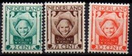 PAYS-BAS - Série Complète Des  Oeuvres Pour L'enfance De 1924 Neuve TTB - Period 1891-1948 (Wilhelmina)