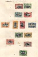 CONGO BELGE  + RUANDA-URUNDI - Collection Intéressante - 15 Scans - Belgisch-Kongo