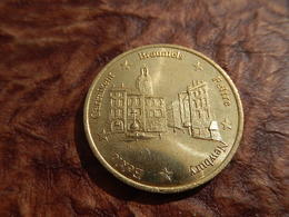 MONNAIE 1 EURO TEMPORAIRE 1998 BAGNOLS SUR CEZE - Euros Des Villes