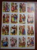 Planche éducative Volumétrix - N°152 - Folklore III - Livres, BD, Revues